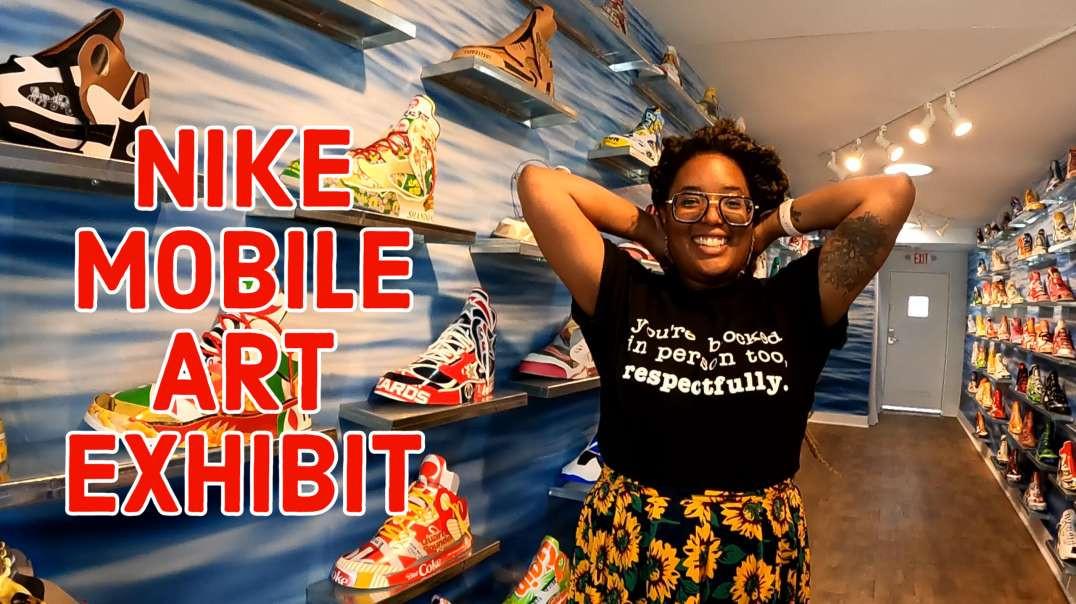 Nike Shoe Art Exhibit | 202DC