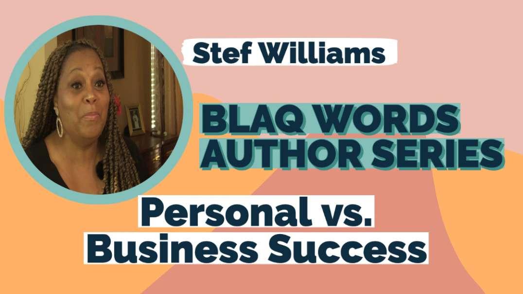Blaq Words Stef Williams - What is Success | vizo.tv